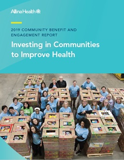 2019 Community Benefit and Engagement Report cover