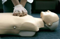 The ratio now taught for CPR is 30 chest compressions to two breaths.
