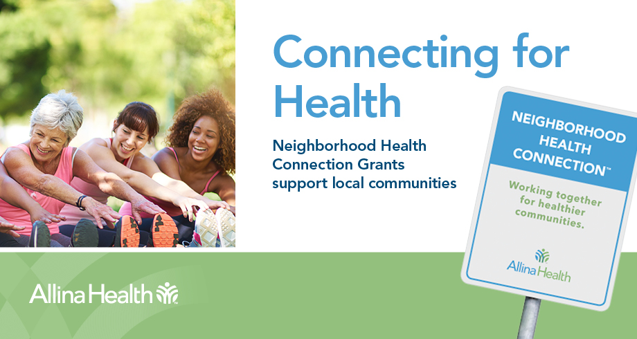 Neighborhood Health Connection banner without apply now button