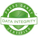 Press Ganey data integrity certified logo