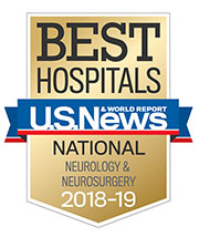 US News and World Report Neuro Badge