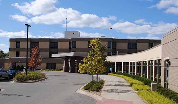 District One Hospital main entrance