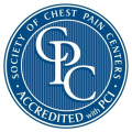 Chest Pain Accred logo