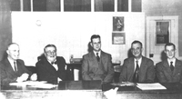 Hastings Hospital committee in 1949