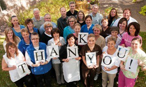 Thank you from the RFAH Foundation