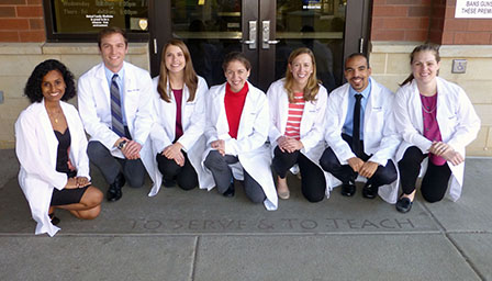 United Family Medicine residents in group photo