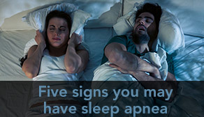 Five signs you may have sleep apnea - teaser