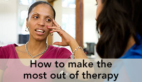 How to make the most out of therapy