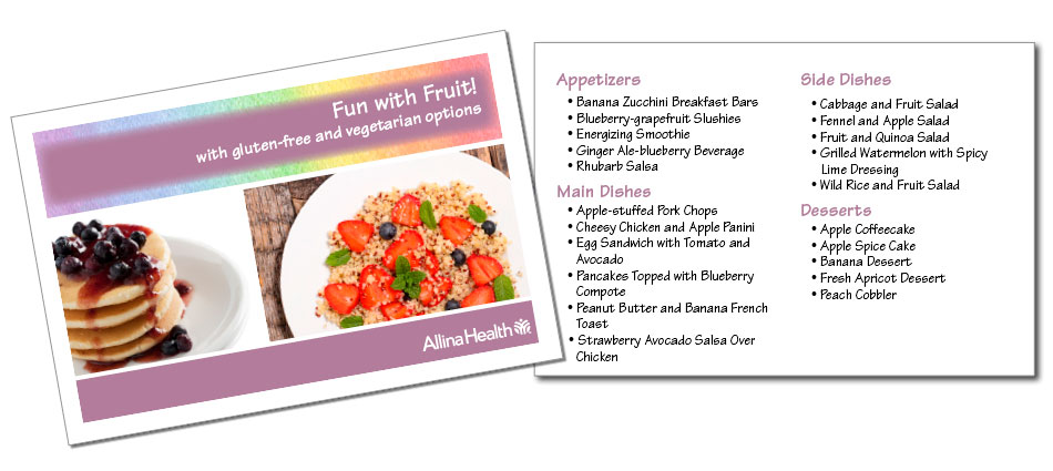 Recipe books   Now available for ordering!