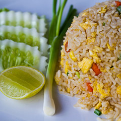 breakfast rice dish