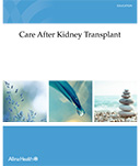 kidney transplant booklet cover