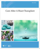 The cover of Care After Heart Transplant