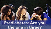 Prediabetes are you the one in three?