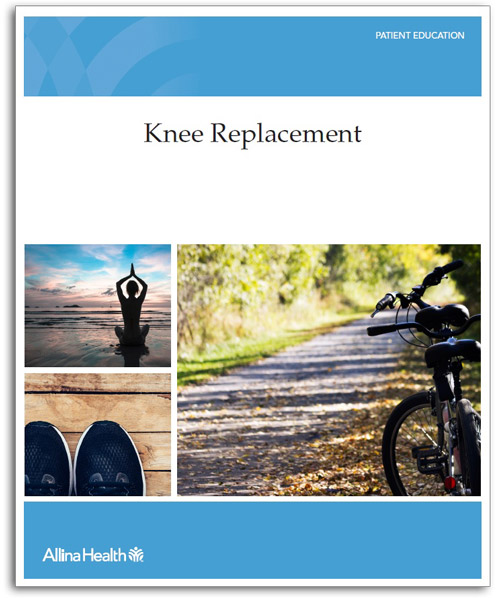 knee replacement cover