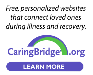 Caring Bridge website