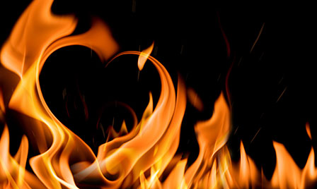 heartburn can feel like a flame in your stomach