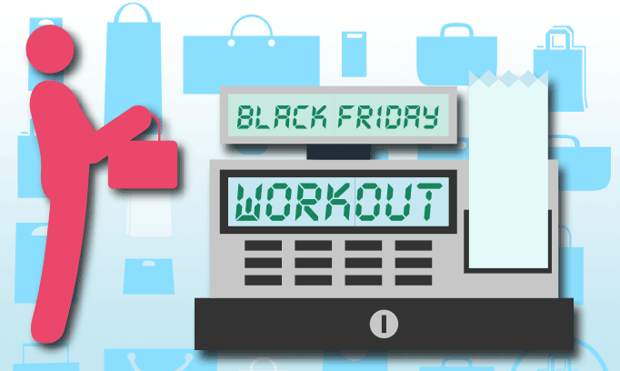 Get a workout from shopping