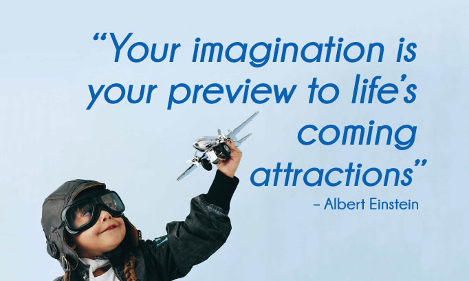albert einstein quote, imagination quote