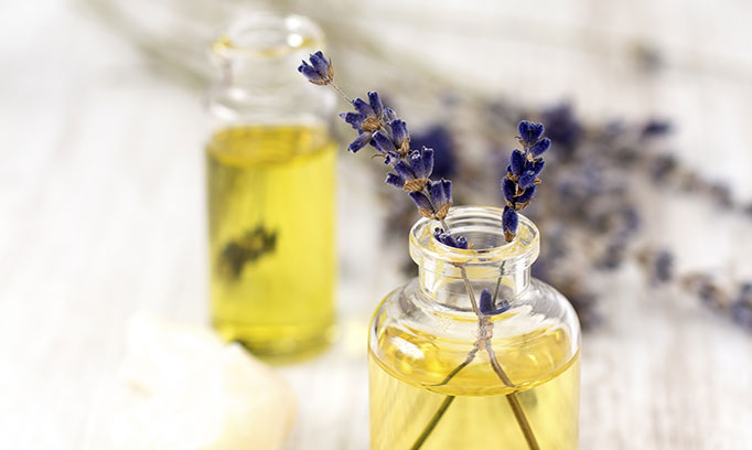 Essential oils used for aromatherapy