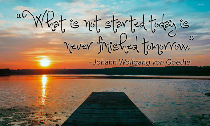 Johann Wolfgang von Goethe quote, motivation quote