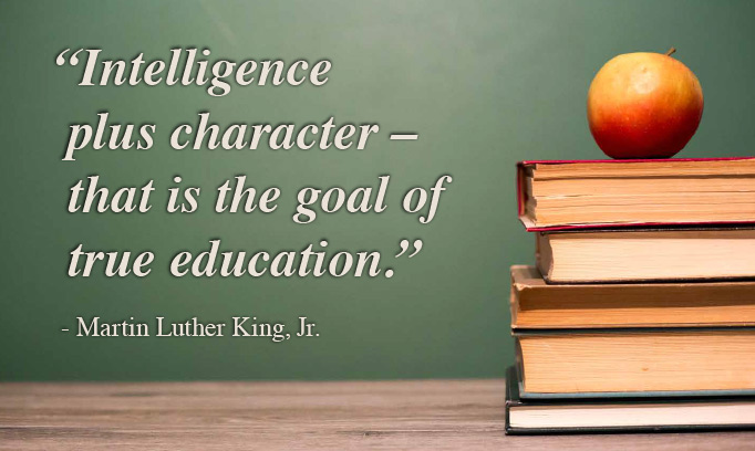 Martin Luther King Jr. quote, education quote