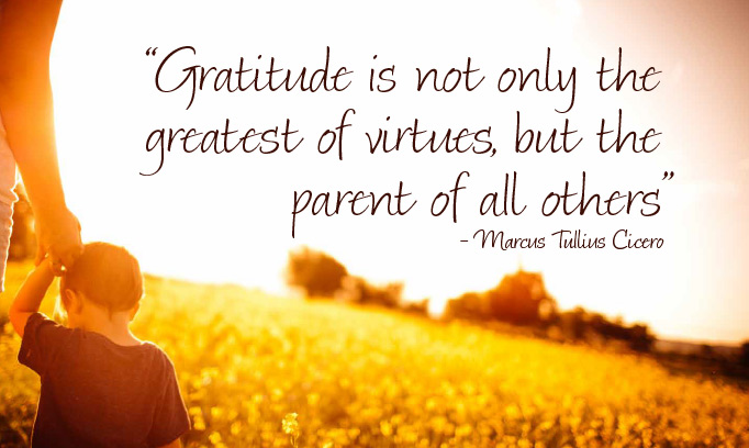 Cicero quote on gratitude