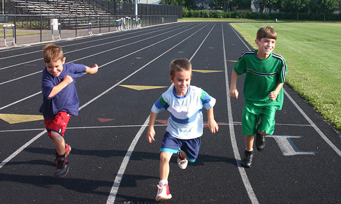 young kids running, is it safe for kids to run