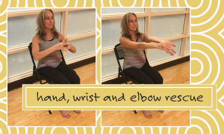 hand, wrist and elbow