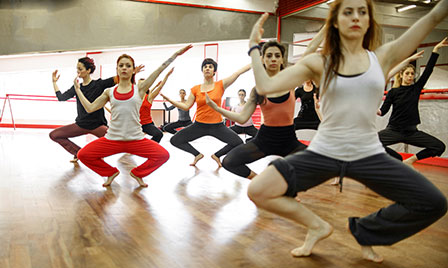 Eight workouts that don't...  dancing
