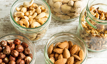 Five delicious health tips - nuts