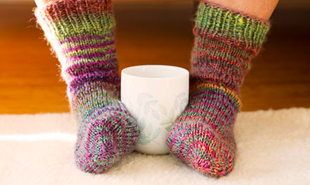 Take care of your tootsies - cold feet