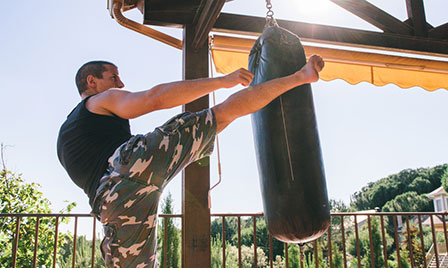 Eight workouts that don't...  self defense