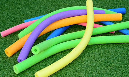 Backyard Olympics Listicle -  pool noodle