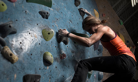 Eight workouts that don't... Rock Climbing