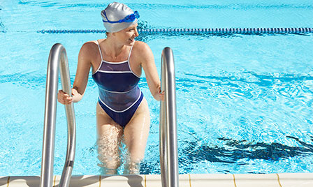 Eight workouts that don't...  swimming