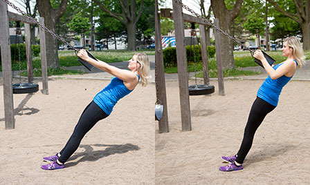 Playground Workout_Swing Dips