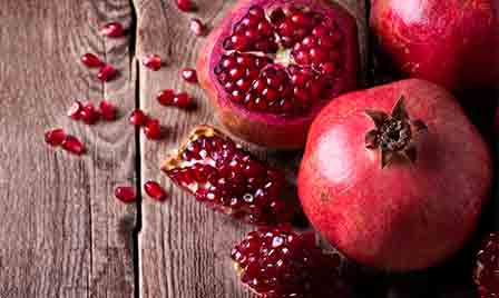 Fortunate foods pomegranate