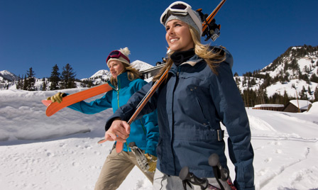 Try skiing or snowshoeing