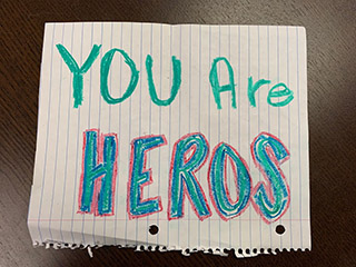 You are heros