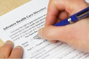 filling out health care directive