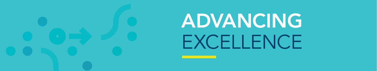 Advancing Excellence Banner